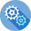 gears homepage icon