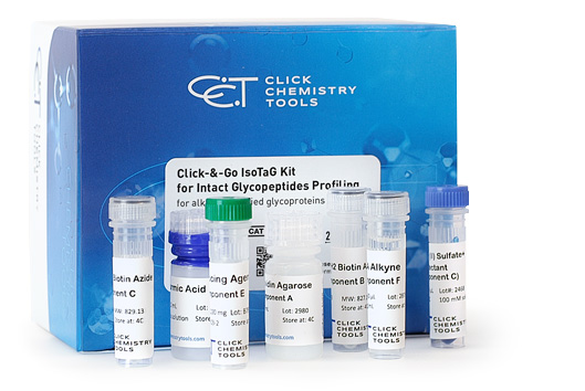 Click-&-Go IsoTaG Kit for Intact Glycopeptides Profiling