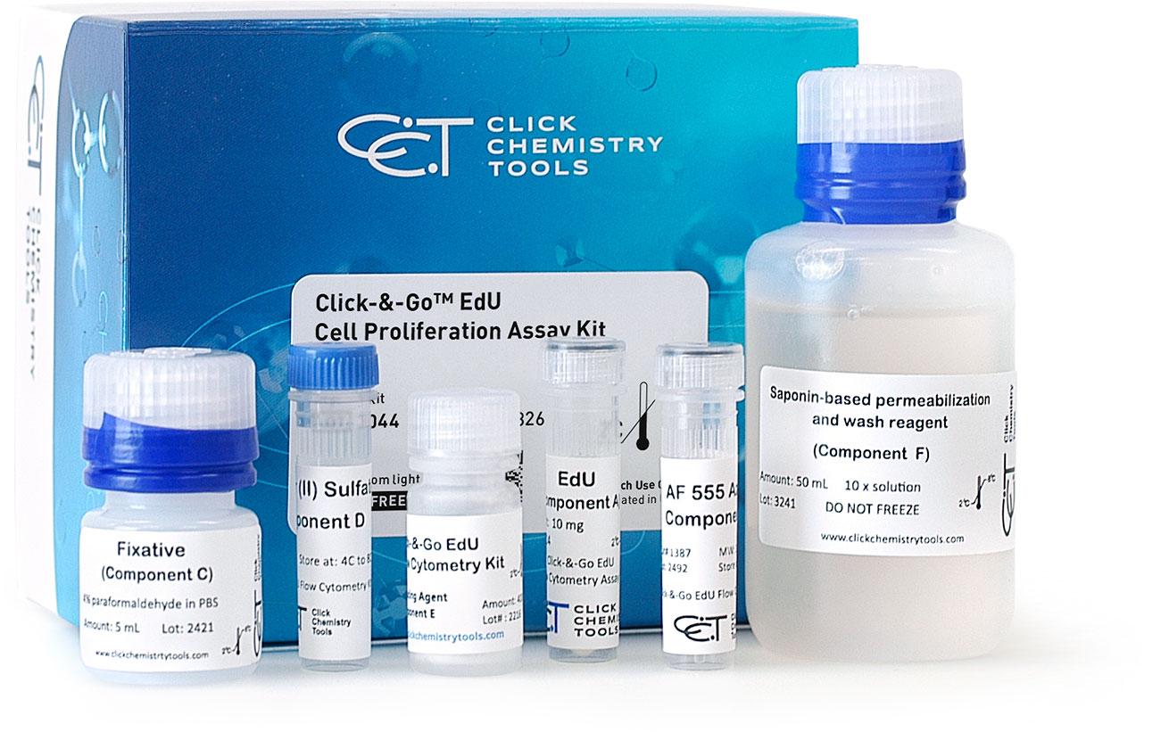 Click-&-Go Plus EdU Flow Cytometry Assay Kits